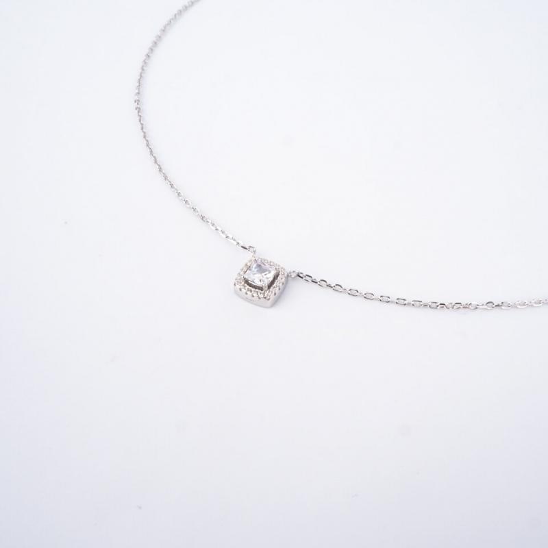 Classico square silver...