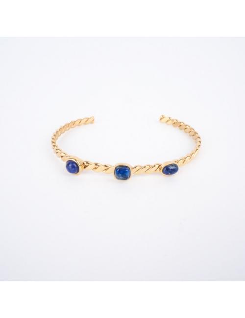 Bracelet jonc 3 stones...