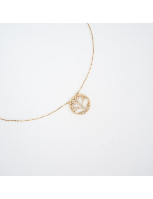 Tree of life gold necklace - Zag Bijoux