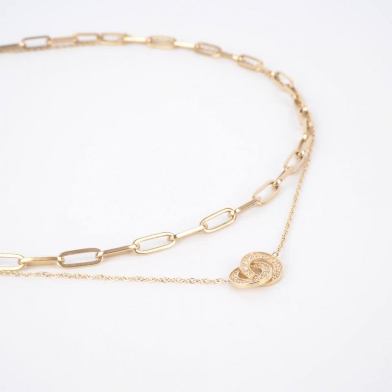 Claudia gold necklace - Zag...