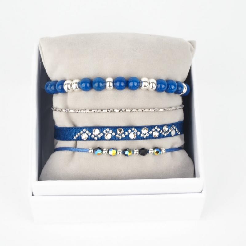 Strass box Nameless bleu...