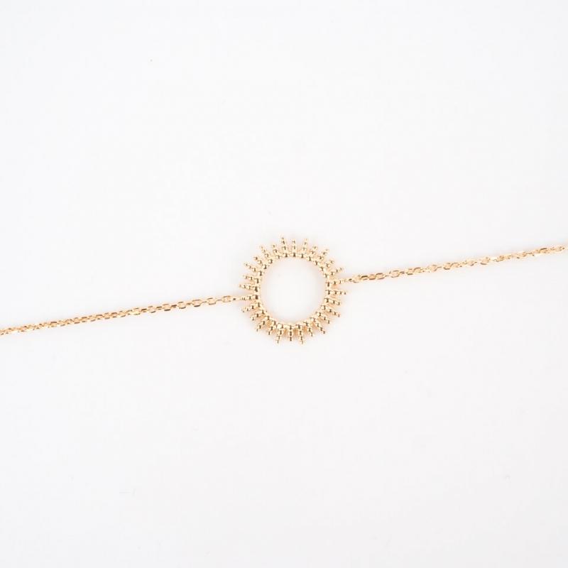 Sun gold bracelet - Pomme...