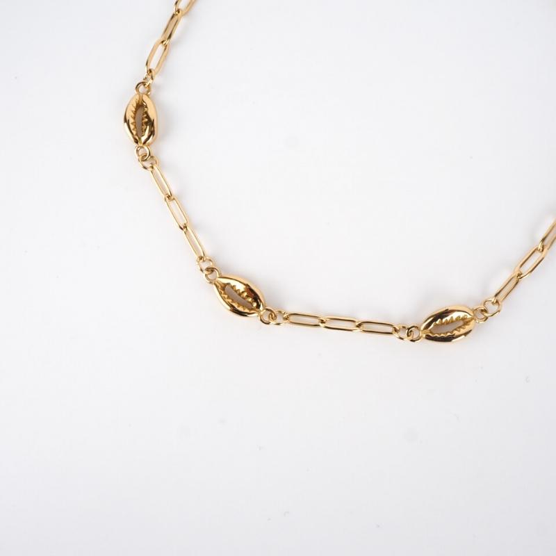 Sanae gold anklet chain -...