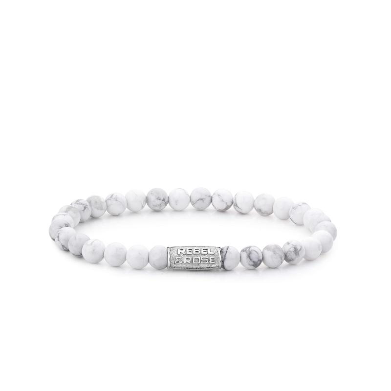 Bracelet Virgin White 6mm -...