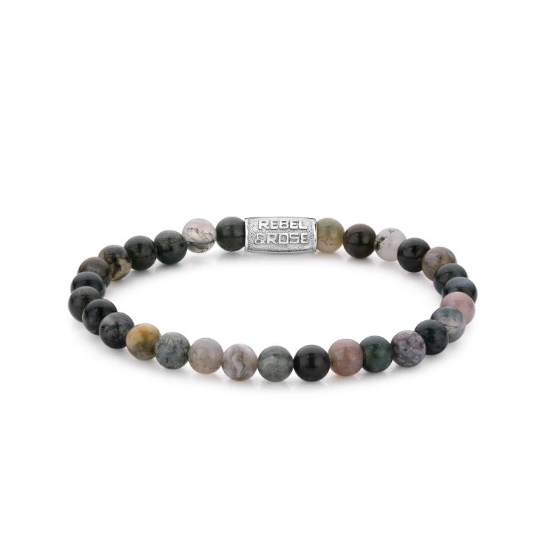 Indian Summer 6mm stone bracelet - Rebel & Rose