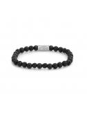 Bracelet Black Moon 6mm -...