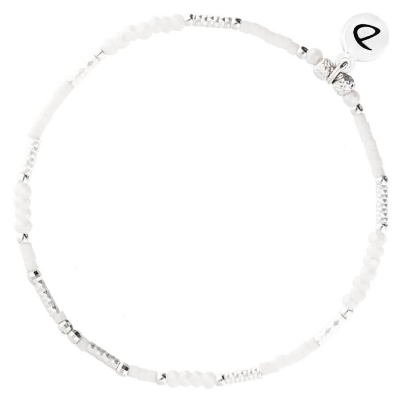 Bright white opaline...