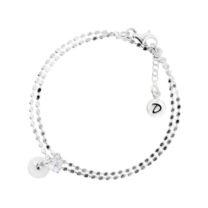 Double chain bracelet...