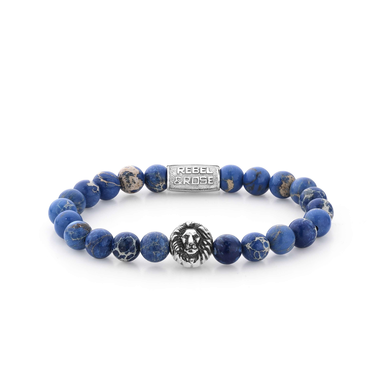 Bracelet Universe Blue Lion 8mm - Rebel & Rose