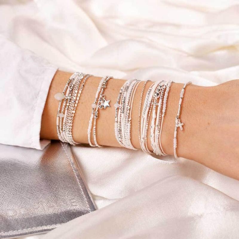 Bracelet Atlanta blanc...
