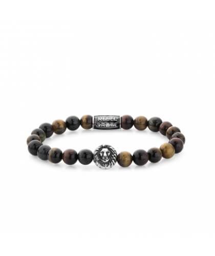 Bracelet Who's affraid of the Lion 8mm - Rebel & Rose