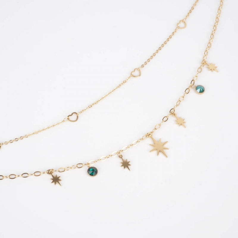 Salvador Multirang necklace...