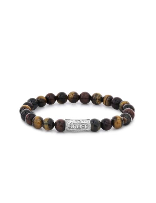Who's afraid of the Tiger 8mm stone bracelet - Rebel & Rose