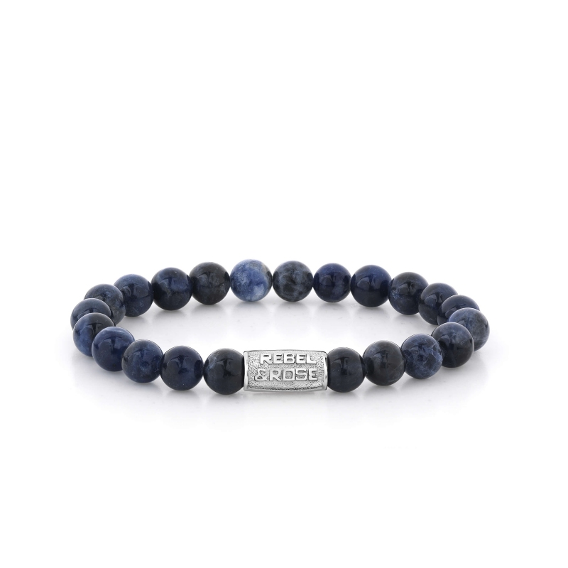 Bracelet Midnight Blue 8mm - Rebel & Rose