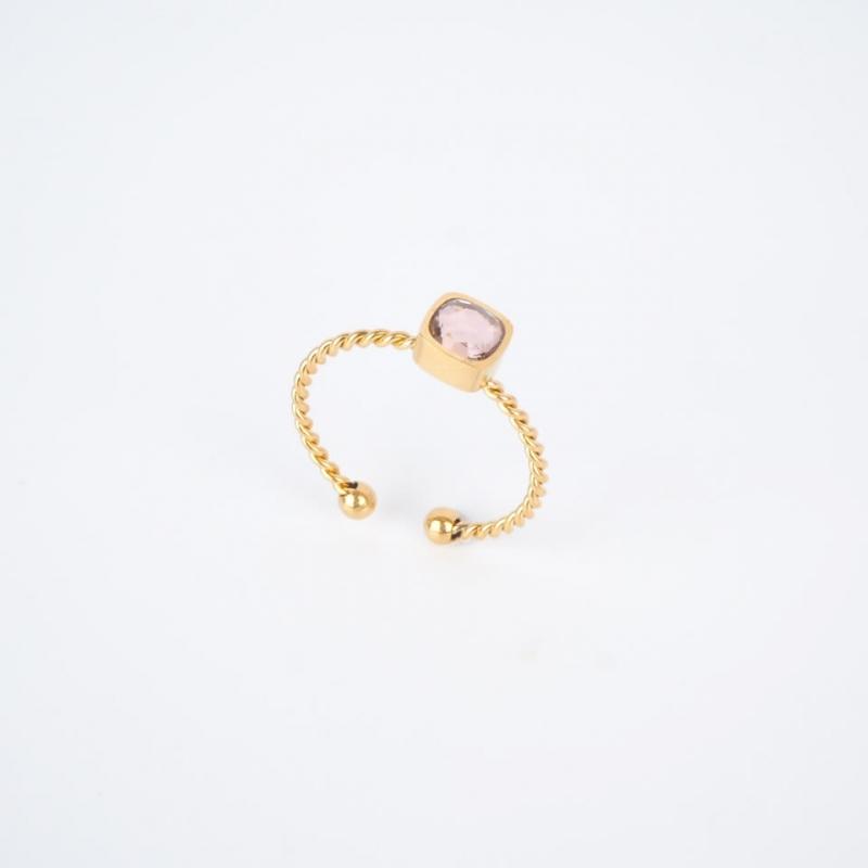 Golden rose Amael ring -...