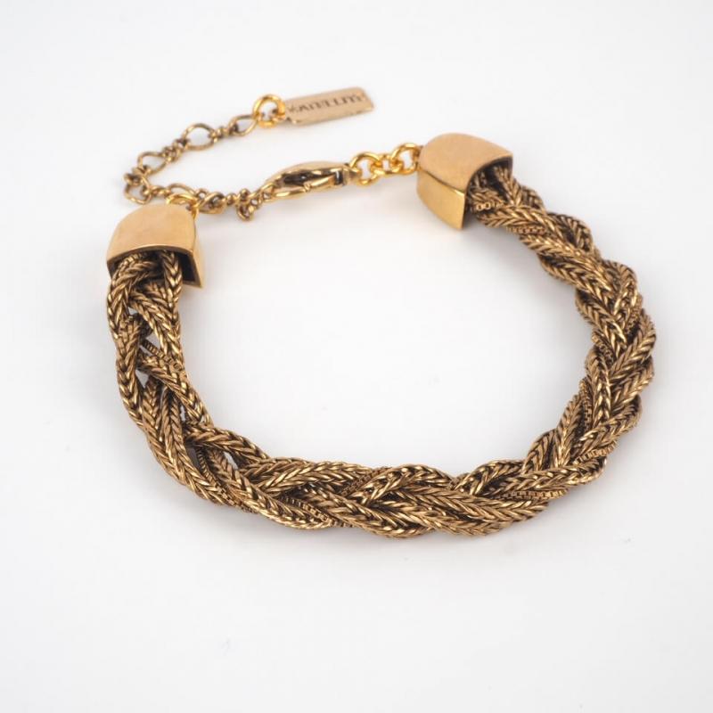 Bracelet chic métal tressé...