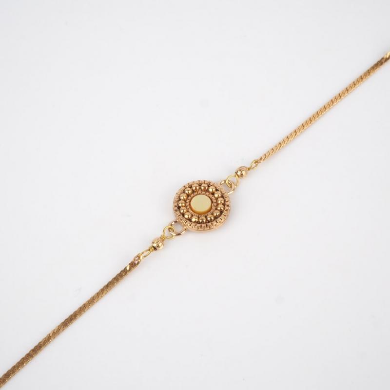 Romantic golden pearl...