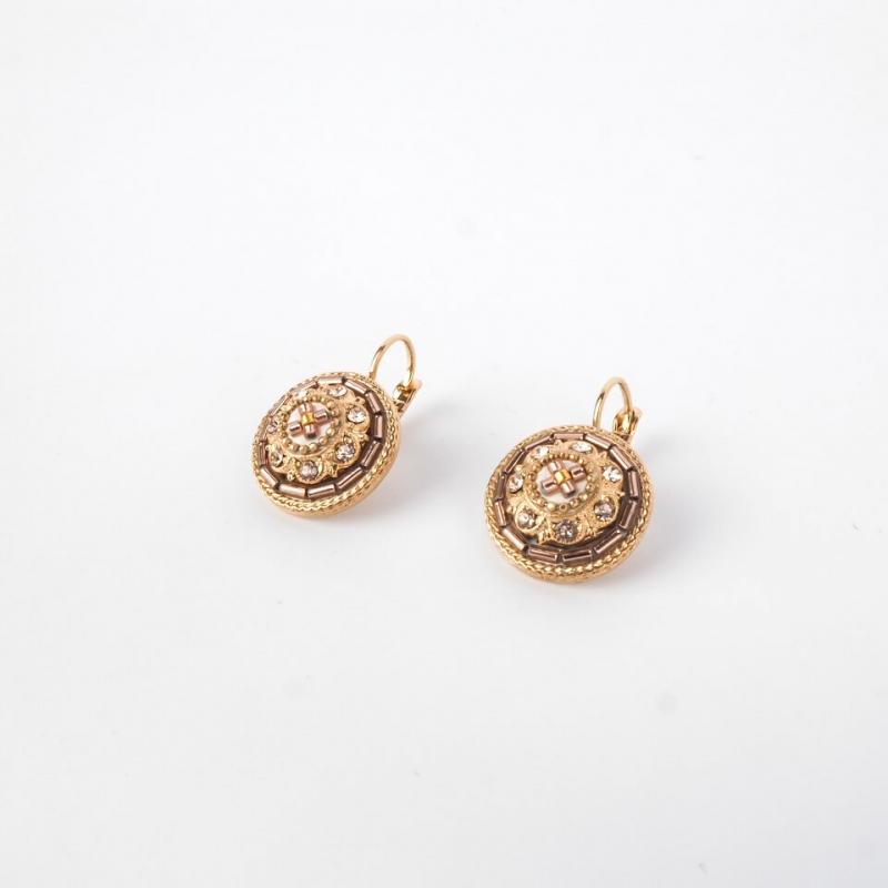 Romantic sleeper earrings...