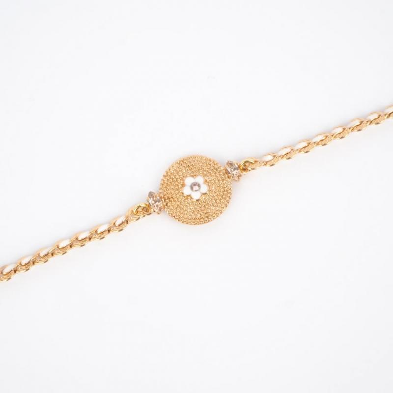 Bracelet souple glamour...
