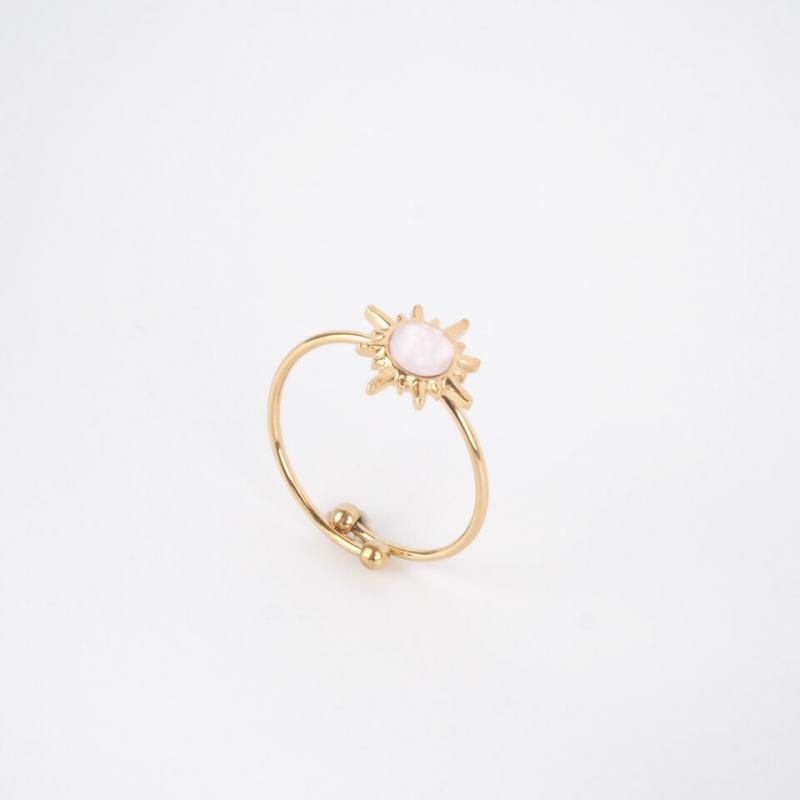 Golden blue Melany ring -...