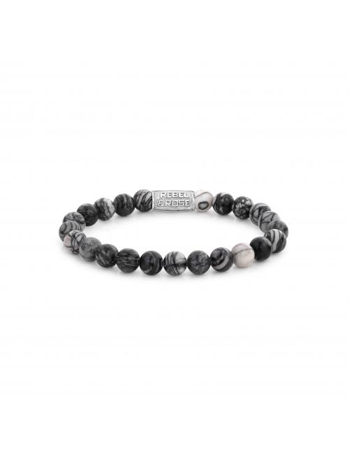 Bracelet Black Wolf 8mm -...