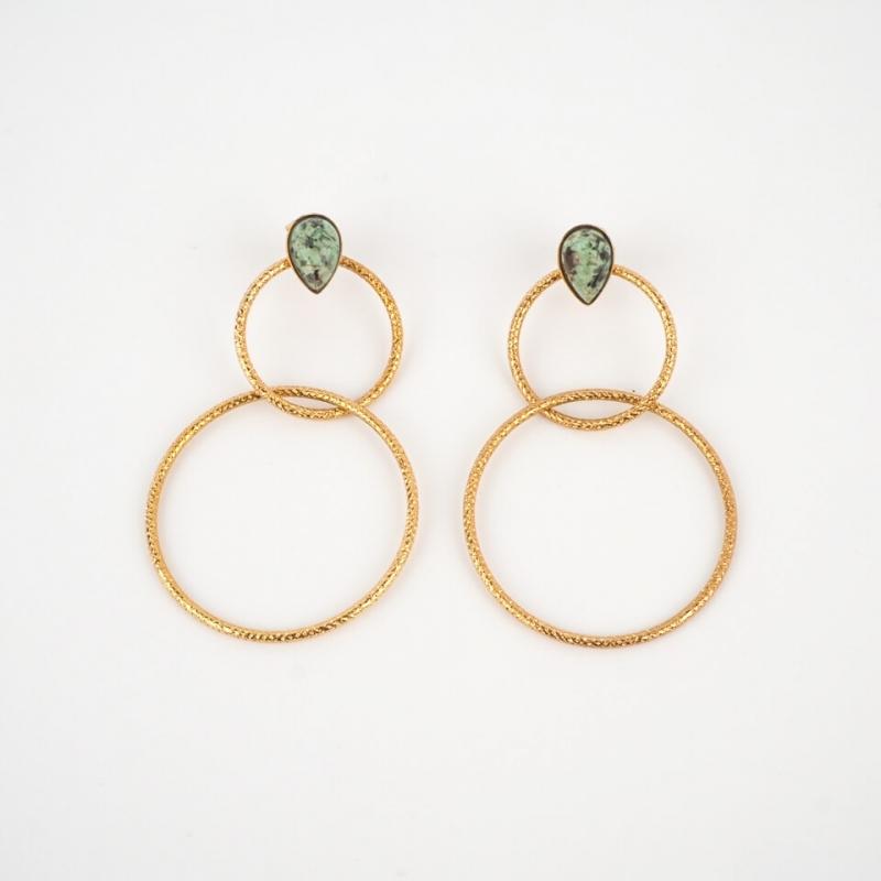 Double hoops lili - Aurélie...