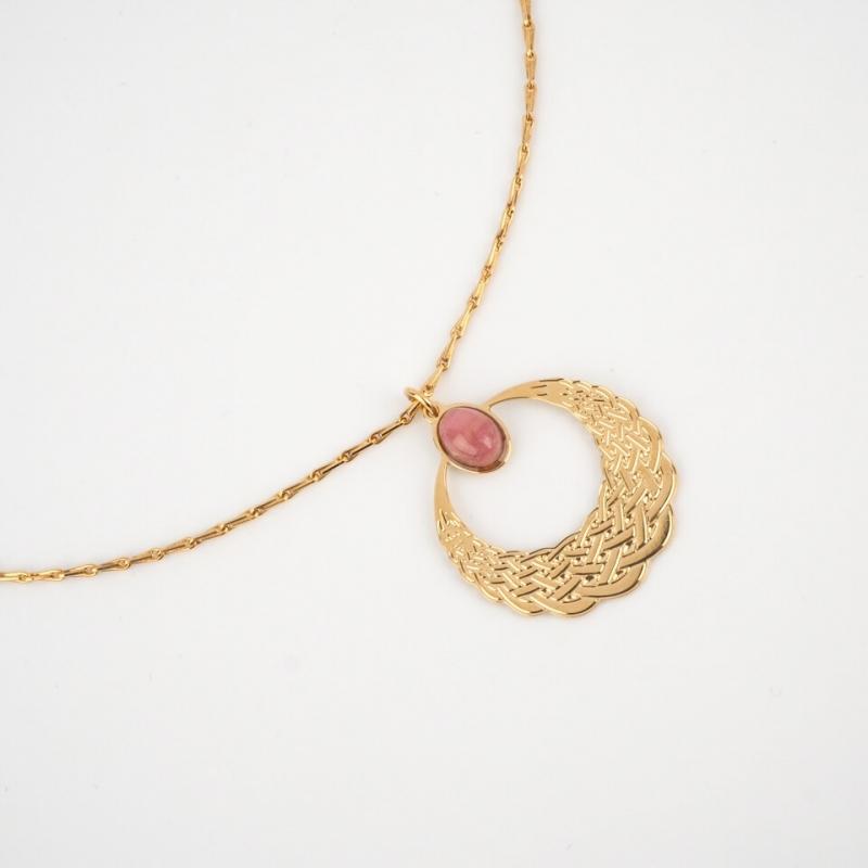 Katniss golden oval stone...