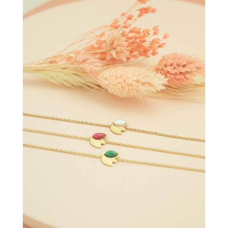 Bracelet chaîne alice doré...