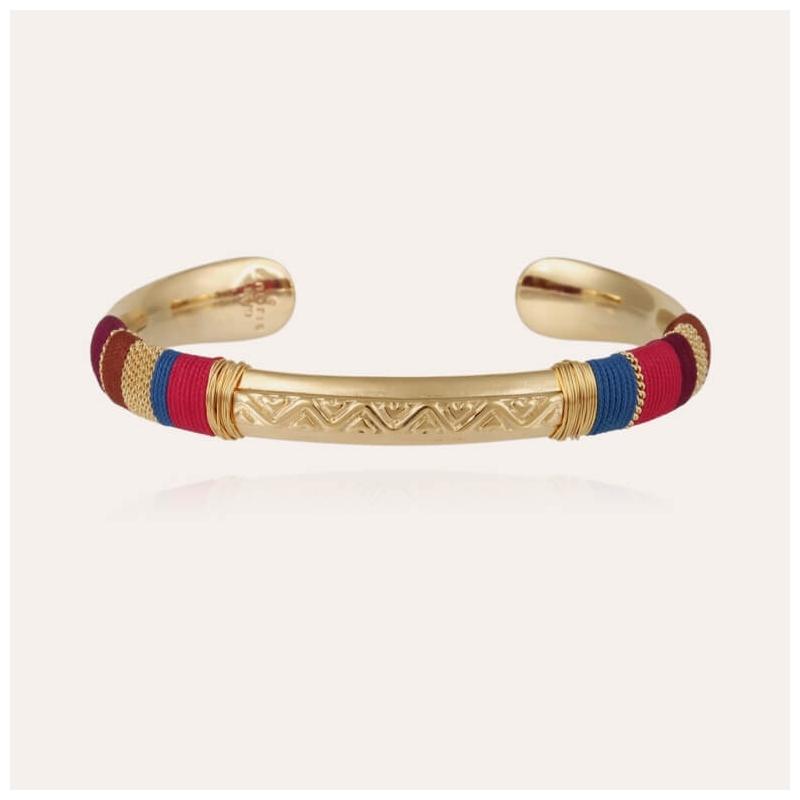 Gold bracelet Massai - Gas...
