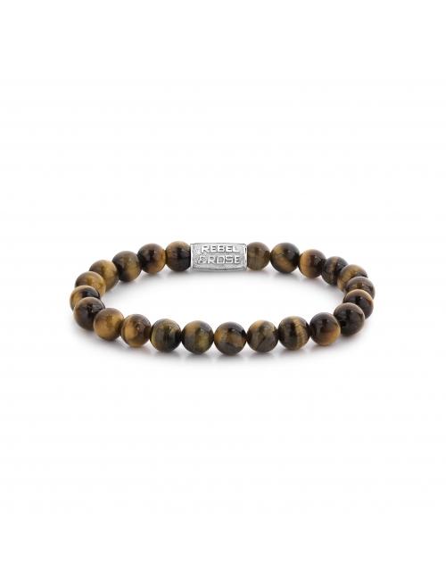 Mad Tiger Lily 8mm bracelet - Rebel & Rose