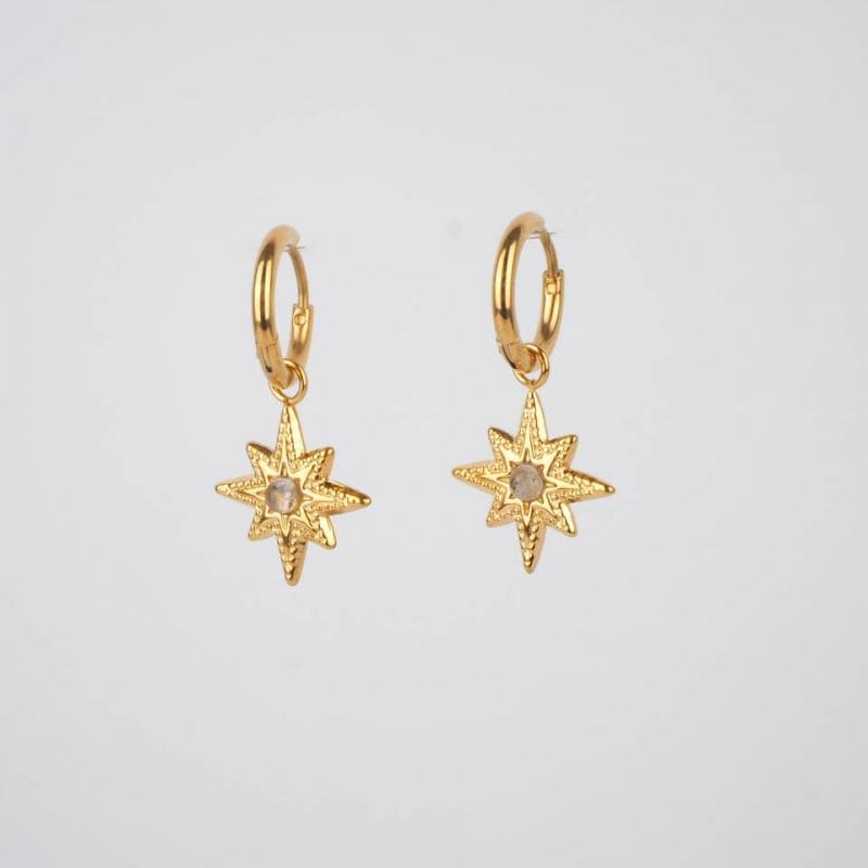 Priam hoop earrings in...