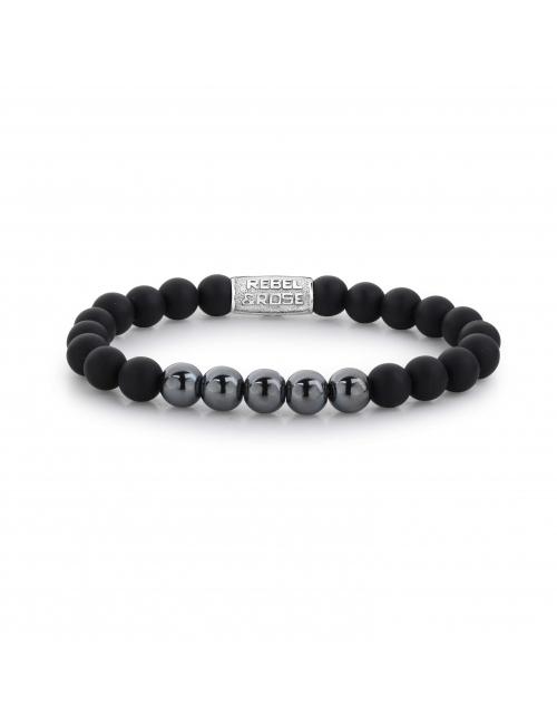 Mad Shiny black bracelet - Rebel & Rose