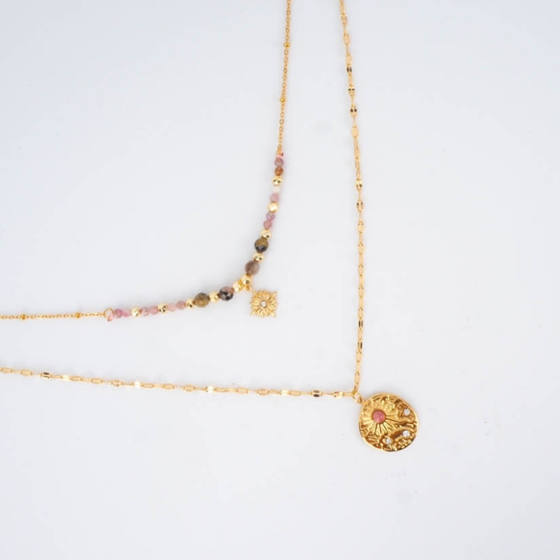 Orion necklace in steel -...