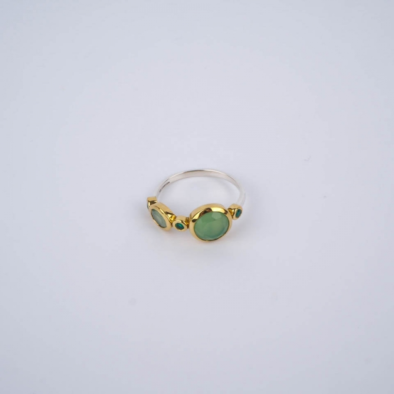 Green Fortune ethnic ring...