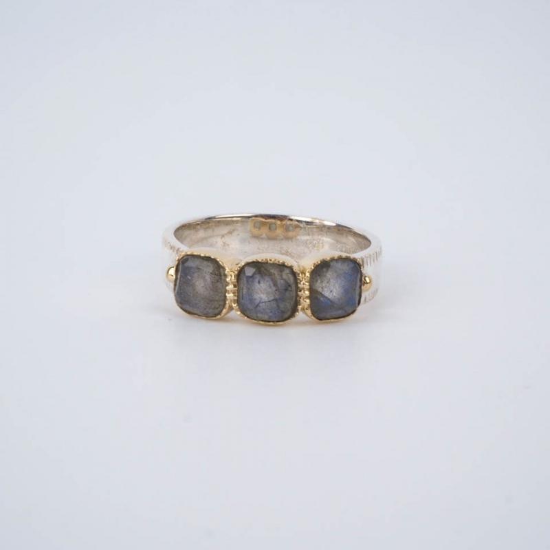 Grey Lavinia ethnic ring in...