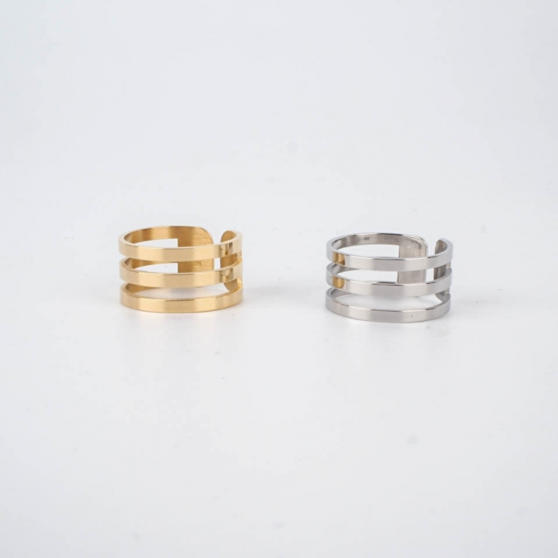 Judy ring gold steel - Zag...