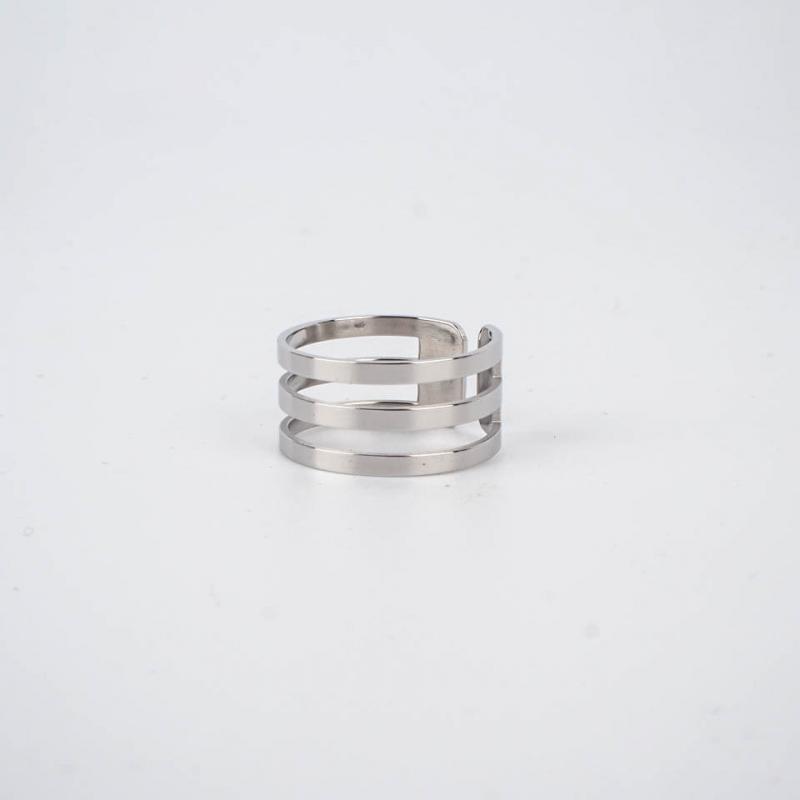 Judy ring steel - Zag Bijoux