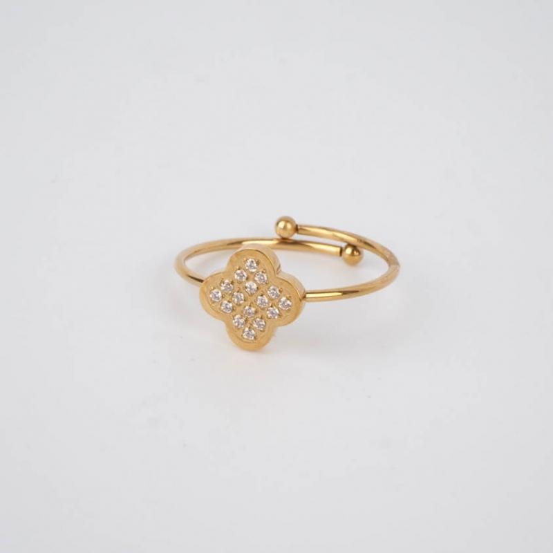 San Pietro ring steel gold...