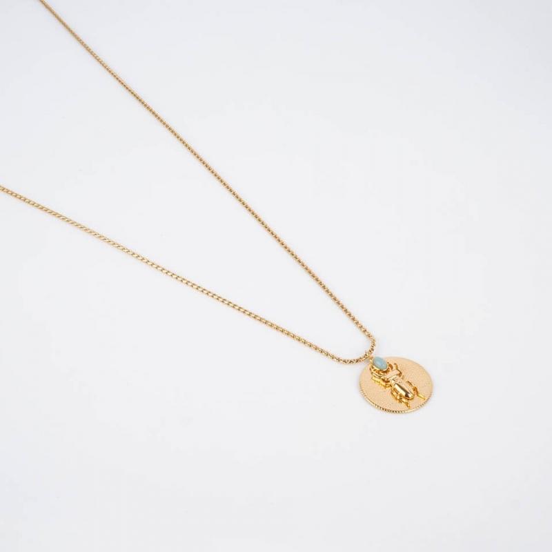 Medallion necklace...