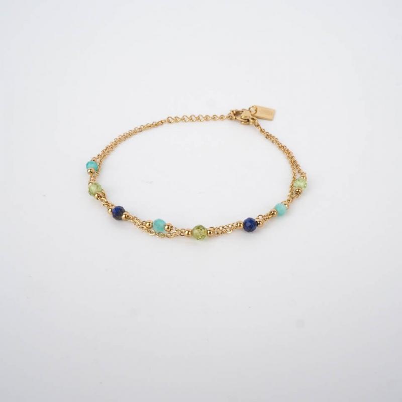 Bracelet Falls bleu acier...