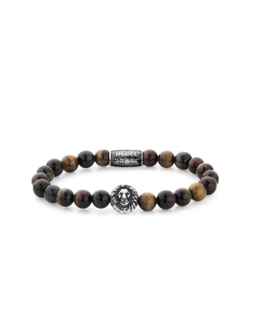 Who's affraid of the Lion head 8mm bracelet - Rebel & Rose