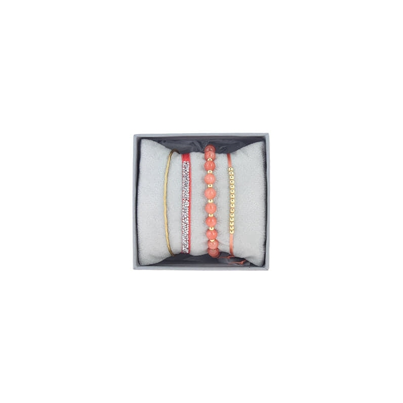 Strass box 4 coral - Les Interchangeables