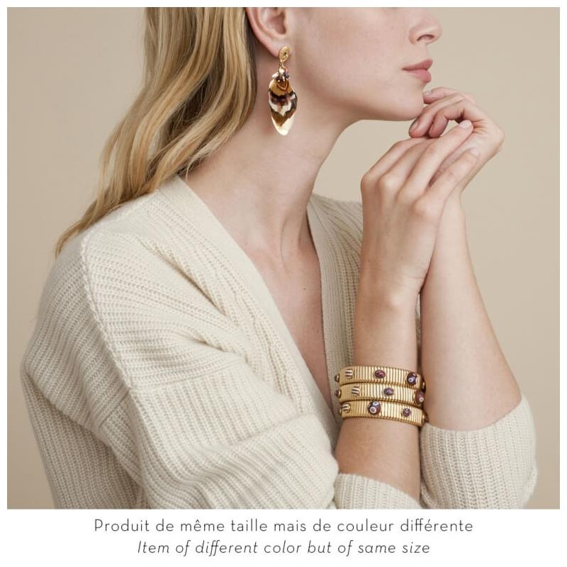 Sao earrings gold - Gas Bijoux