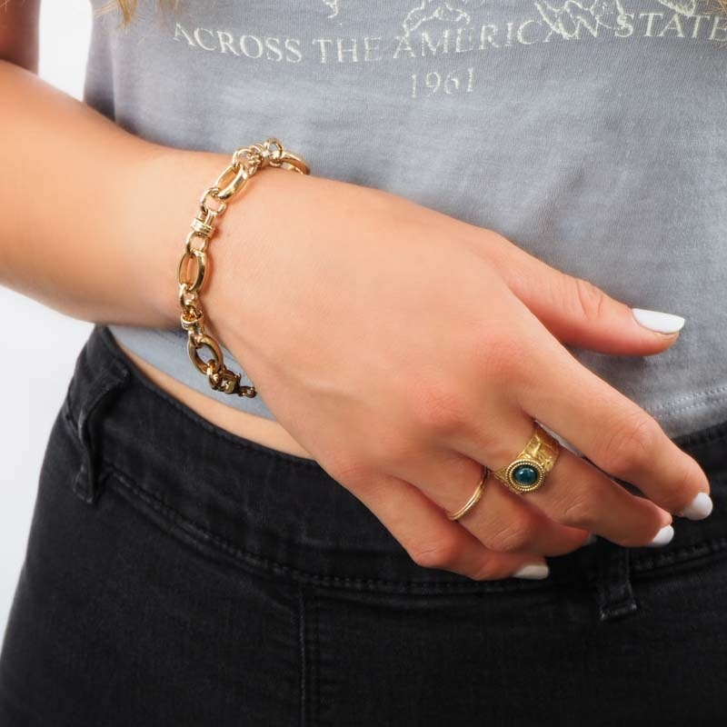 Bracelet Monica en plaqué...