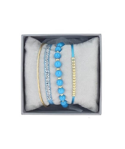 Strass box 4 turquoise - Les Interchangeables