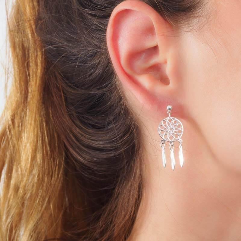 Boucles d'oreilles attrape...