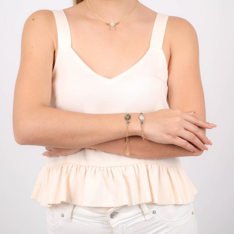 Calypso stretch bracelet -...