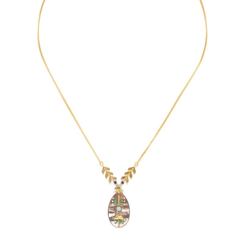 Calypso small drop necklace...