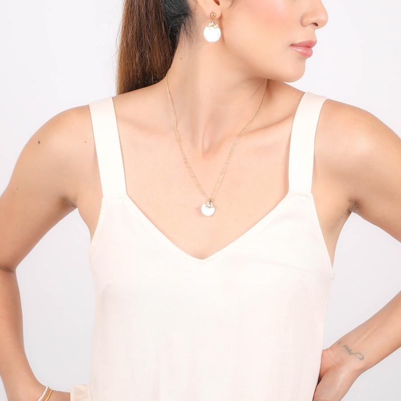 Collier Maria pendentif...
