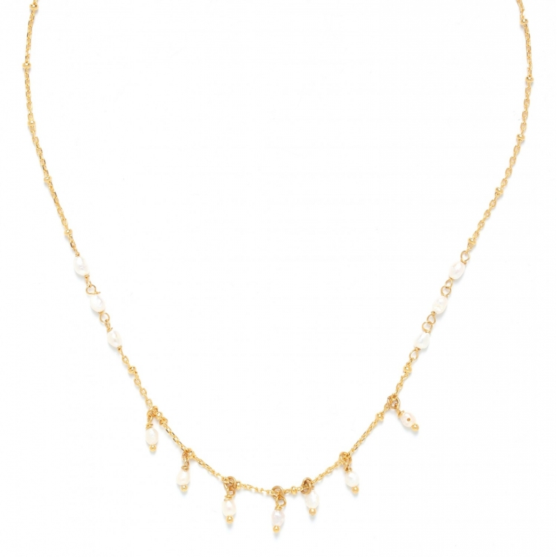 Maria gold necklace...